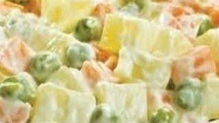 Salada de Maionese Rápida e Barata