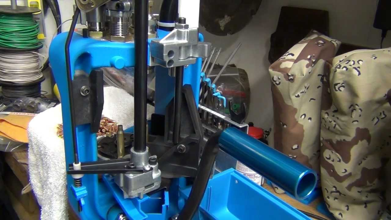 Reloading  223 Rem on the Dillon XL 650