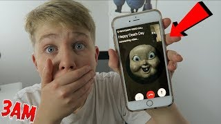 DO NOT FACETIME HAPPY DE4TH DAY AT 3AM!! (OMG HE CAME TO MY HOUSE!!)