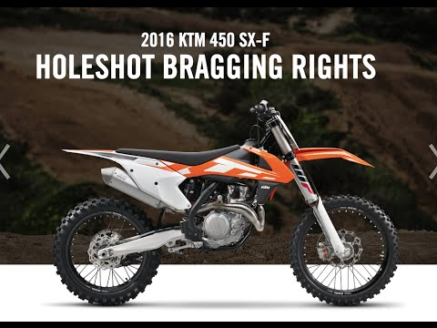 2016 KTM Model Year Lineup Reveal