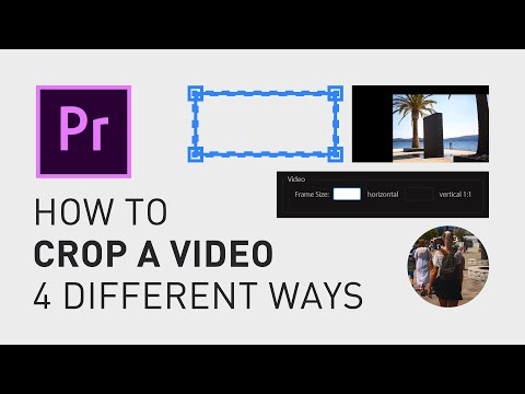 How to crop a video - Adobe Premiere Pro