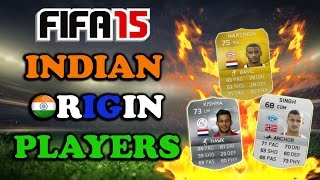 FIFA 15 (PS4) Indian Origin Players (Ultimate team)