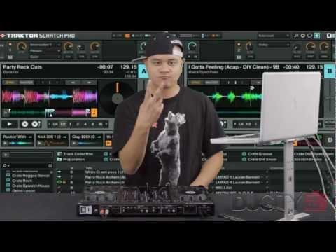 DJ Dynamix on Native Instruments' Traktor Kontrol S4 (Routine)