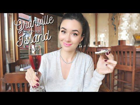 GRANVILLE ISLAND VANCOUVER FOOD TOUR!