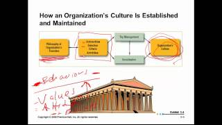 Organizational Culture:  Principles of Management