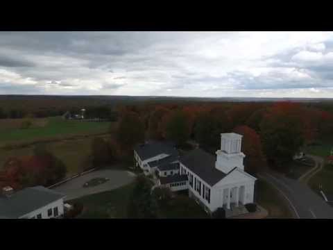 New England Town of Bolton CT Fall