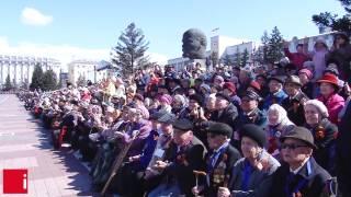 Парад 9 мая 2015 в Улан Удэ