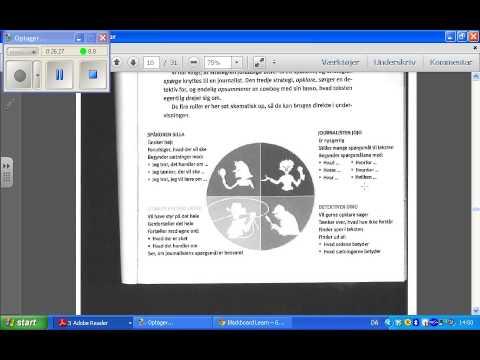 Videoundervisning Astrid Roe Læasedidaktik kap 4