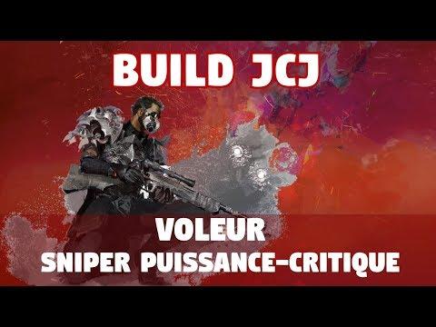 Guild Wars 2 [JCJ] Build Voleur Sniper Puissance-Critique