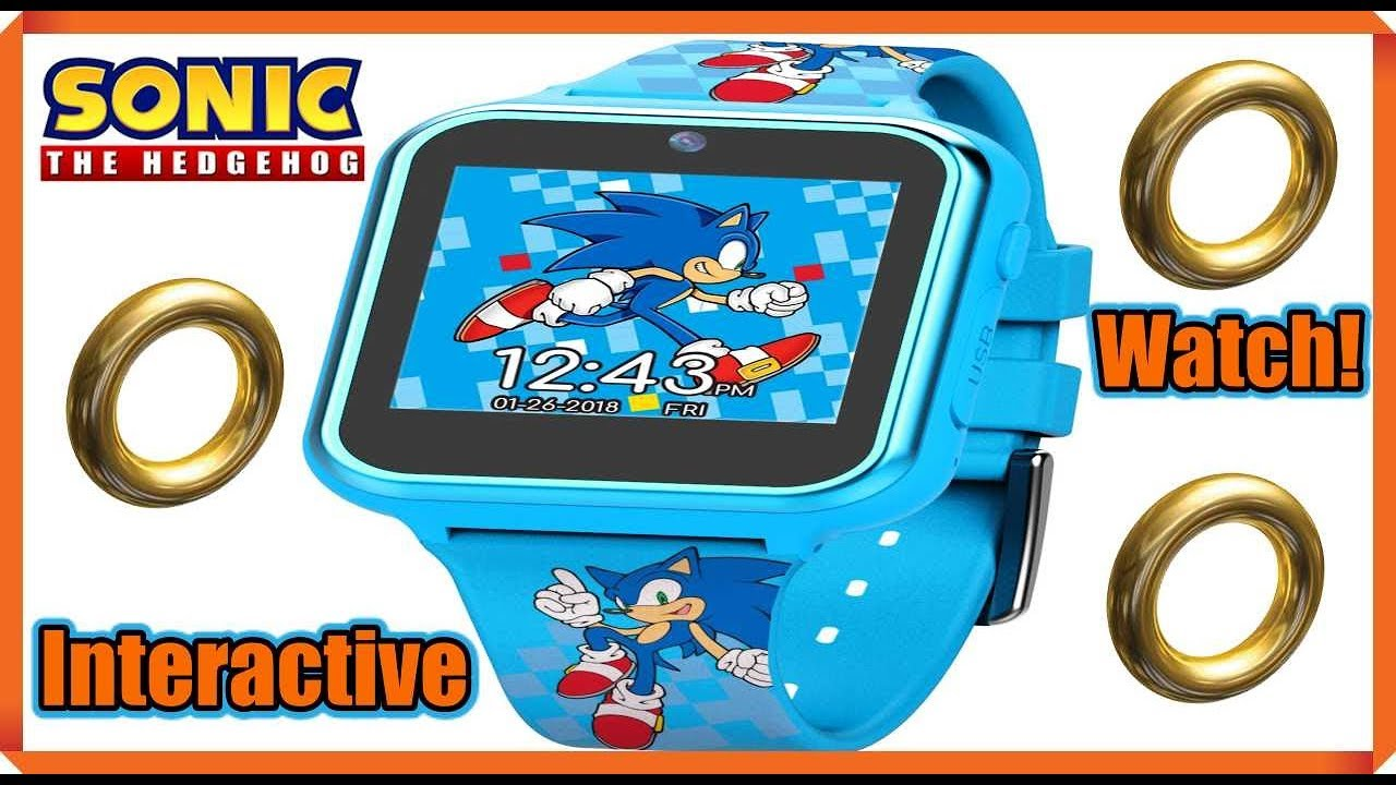 Sonic The Hedgehog Interactive Watch Review Youtube