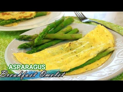 Exceptional Breakfast Asparagus Omelette