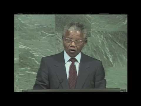 WorldLeadersTV: PRESIDENT NELSON MANDELA of SOUTH AFRICA HONOURED by UNITED NATIONS