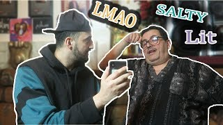 TEACHING MY FOREIGN DAD INTERNET SLANG!