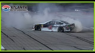 Twice As Fun: Harvick Earns Second Burnout Celebration
