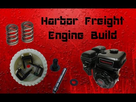 Harbor Freight 6.5hp Go Kart Engine Build Part 1