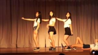 2016~2017年度 金文泰中學舞蹈比賽第五隊 Fire
