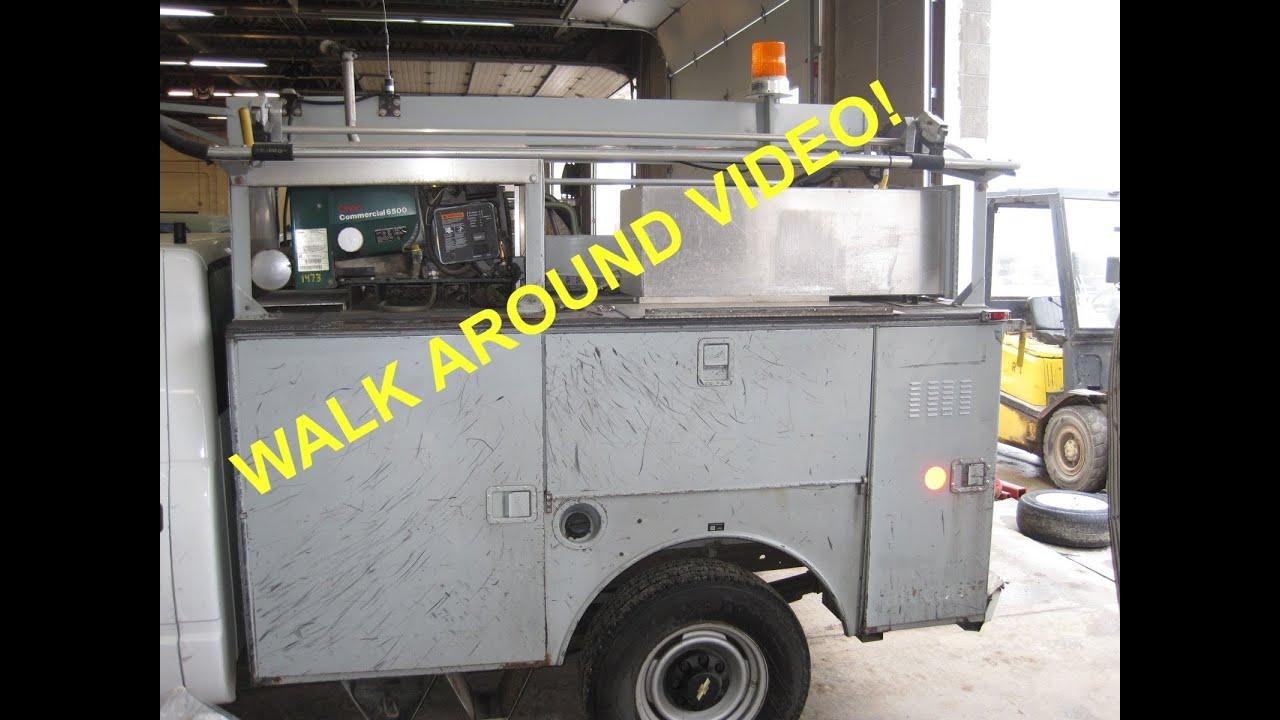 Steelweld Utility Truck Body Rolling Tool Box 1473 Sold