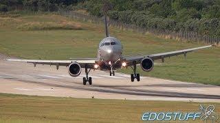 strong crosswind landing aeroflot airbus a321 211 vq bea split airport spu ldsp