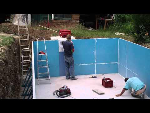 piscine en kit panneaux acier. Black Bedroom Furniture Sets. Home Design Ideas