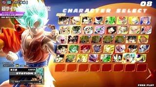 Dragon Ball Z: Zenkai Battle Royale: Super Saiyan God Super Saiyan Goku Gameplay