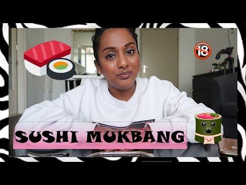 REALTIME SUSHI MUKBANG 18+?!? | CISKALALA.COM