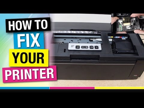 Is Your Epson 1430 Printer Clogged or Streaking? How to Remove, Clean, and Calibrate the Print Head