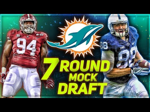 MIAMI DOLPHINS 2018 MOCK DRAFT | To Draft A QB or Not?