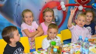 VLOG Детский ДЕНЬ РОЖДЕНИЯ!!! ВЕСЕЛЫЕ развлечения ИГРЫ Подарки ❤❤❤ Савёнку 4 года!!! ❤❤❤