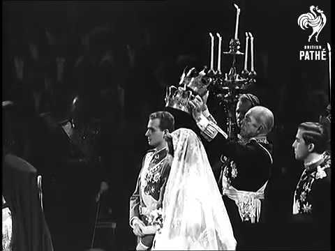 1962   HM King Juan Carlos I & HM Queen Sofía of Spain