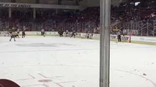Golden Gophers amazing goal!! University of Minnesota v. Boston College)