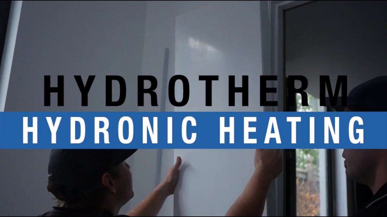 Hydrotherm Hydronic Heating - System fit-off in Toorak - YouTube