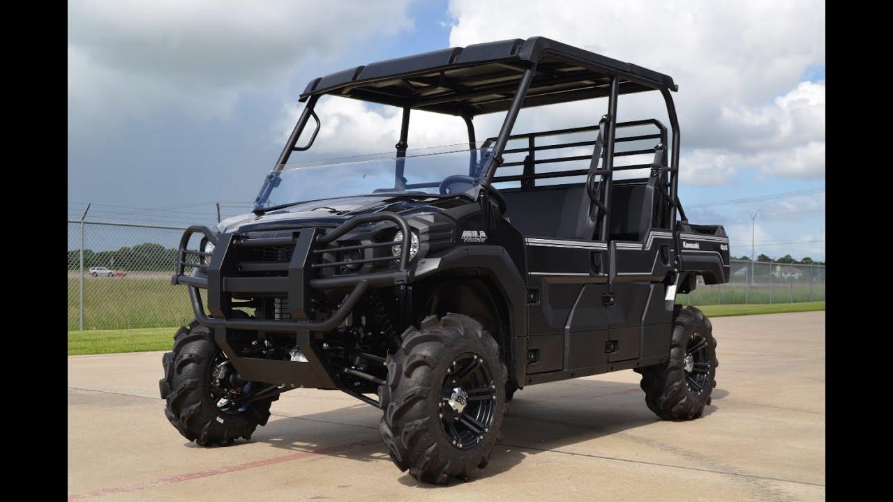 """2015 mule pro fxt with 28"""" itp mega mayhem tire upgrade - youtube"""