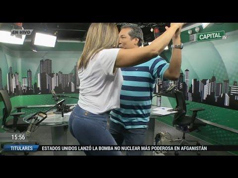 Revive el sensual baile de Mónica Cabrejos con Alan Diez y Diego Rebagliati.