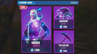 WILL THE GALAXY SKIN COME OUT IN THE STORE?! | Fortnite: Battle Royal