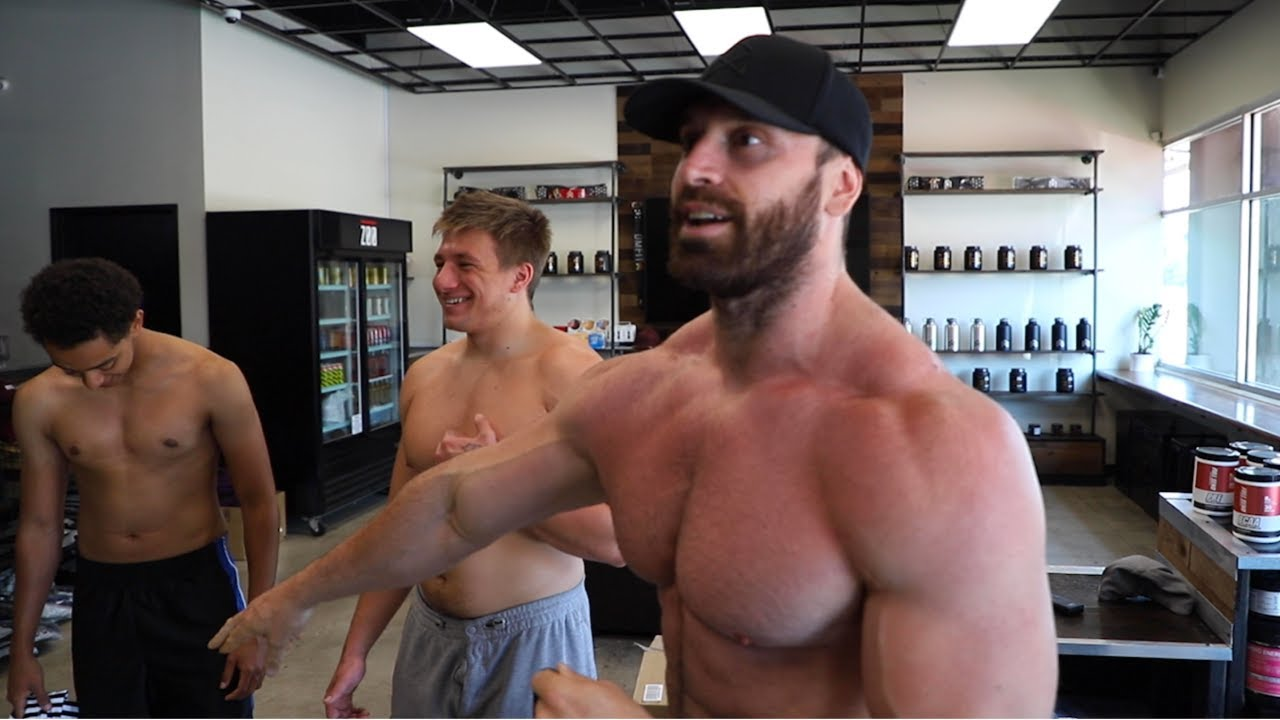Shirtless Push Day With Steve Will Do It N The Nelk Boyss Youtube Best of stevewilldoit trolling bradley martyn. shirtless push day with steve will do it n the nelk boyss