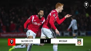 Salford City 2-0 Wrexham   The National League   01/01/19