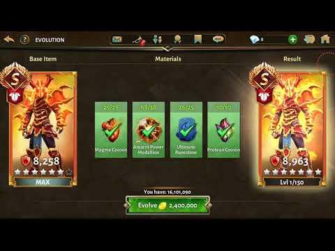 10000 DEFENCE ARMOR EVOLUTION ! Dungeon Hunter 5