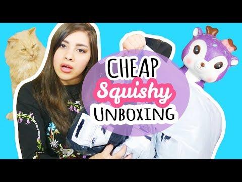 HUGE Squishy Package! | Cheap Squishies: Wish, Banggood, Ebay