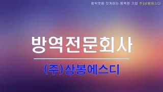교육기관 방역 전문 회사 - (주)상봉에스디