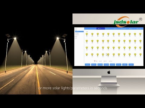 Smart Solar Street Light BY Zigbee & 4G Network