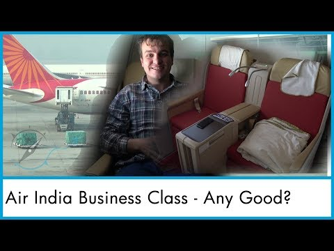 Air India Boeing 787 Dreamliner Business Class Review