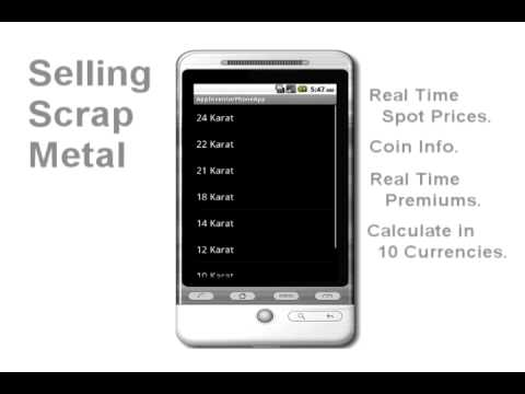 Gold & Silver Coin Calculator Demo