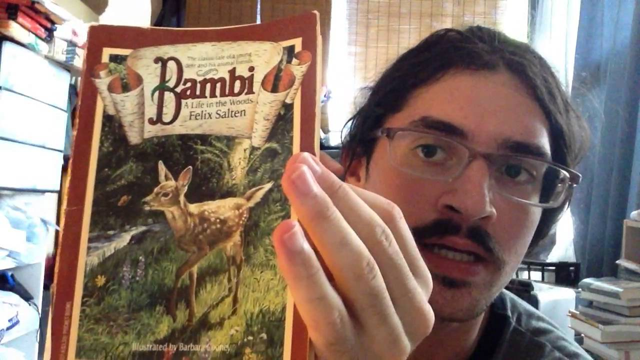thinkliterary!! bambi: a life in the woods / felix salten - youtube