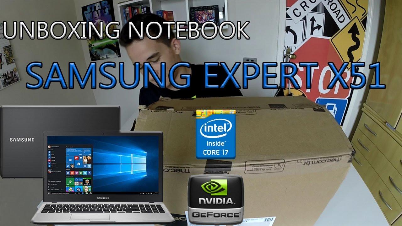 Notebook samsung expert x51 - Unboxing Notebook Samsung Expert X51