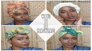 4 Ways To Tie A Headwrap