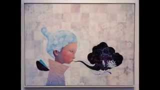 Японская Современная живопись Yoskay Yamamoto Монтаж Екатерина Демидова