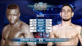 CAGE 41 Edward Walls vs Giorgos Kechagias Full Fight MMA