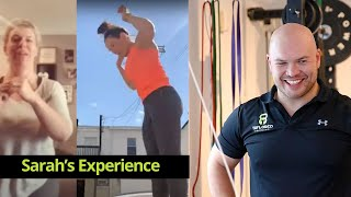 Sarah's experience with online PT
