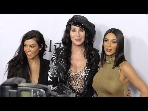 "Kim Kardashian Meets Cher ""The Promise"" Premiere Red Carpet"