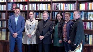 Split: Susret nadbiskupa s članovima Kluba učenika i prijatelja nadbiskupijske gimnazije